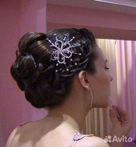 Прически вечерние, свадебные, плетение кос