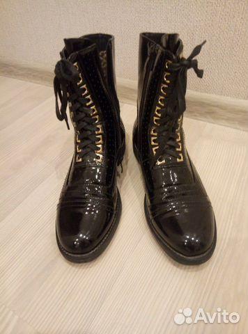 Ботинки женские, размер 38. В отличном состоянии  89608558968 купить 3