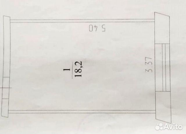 Студия, 18 м², 4/5 эт. 89235230266 купить 5