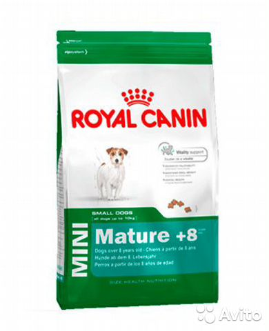 Royal Canin для собак Mini Mature (+ 8) 2 кг— фотография №1
