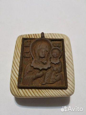 Нательная икона 17-18 век 89523187656 купить 2