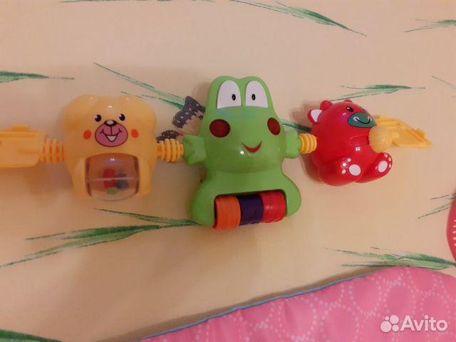 Коврик игровой, игрушка музыкальная в подарок