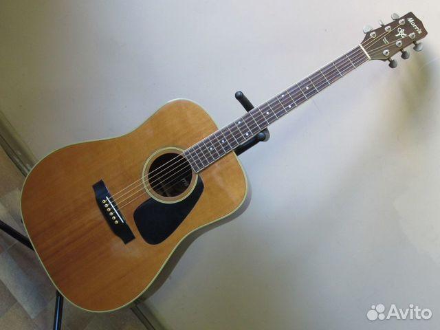 89025069832 Акустическая гитара Morris MV-701 (1982 Japan)