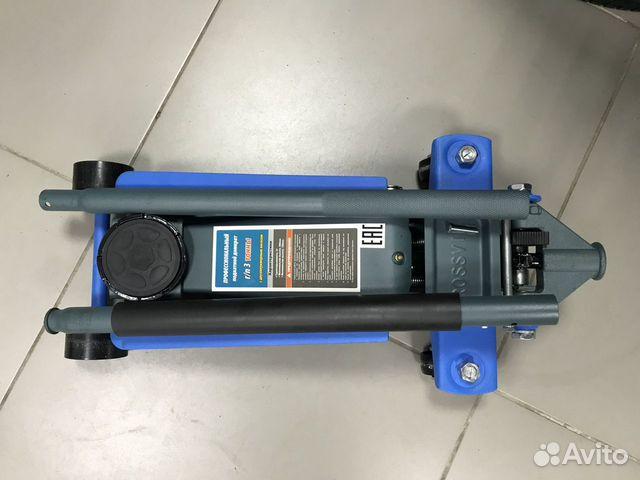 Домкрат подкатной гидравлический Rossvik V3 NEW 89536911143 купить 2