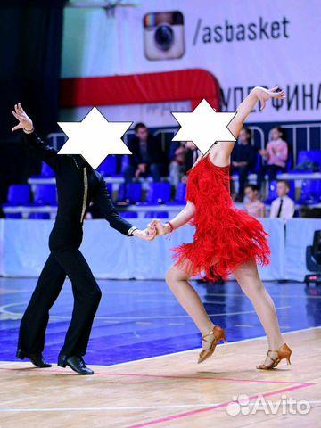 Платье для бальных танцев (латина) Ю-2