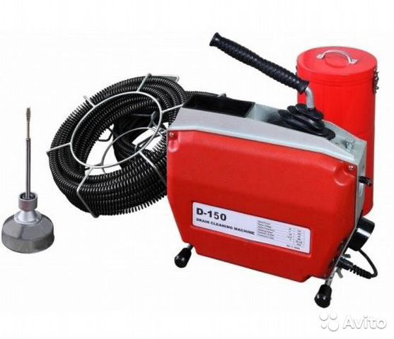 Drain cleaning machine for drains dali D-150 buy 1