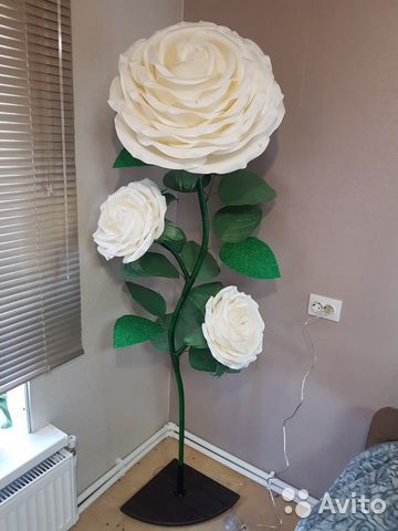 Торшер Ростовые цветы Роза  89009049190 купить 6