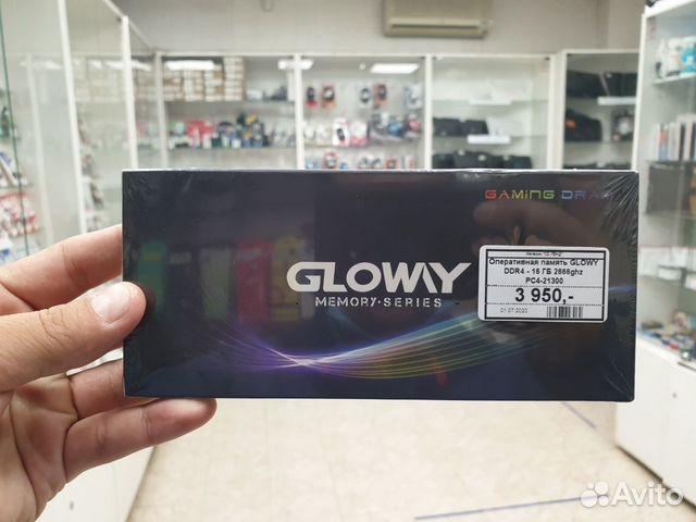 Новая Оперативная память glowy DDR4 16 GB 2666 GHZ купить 7