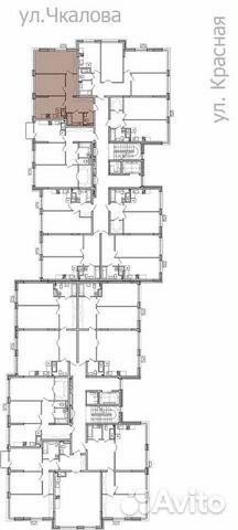 2-к квартира, 62.8 м², 3/9 эт.  88412645458 купить 4