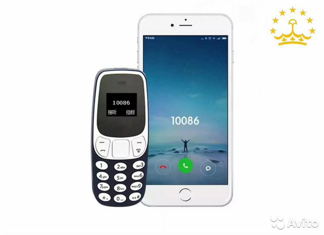 Мини телефон BM10