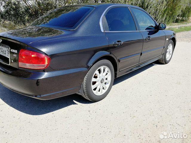 Hyundai Sonata, 2007