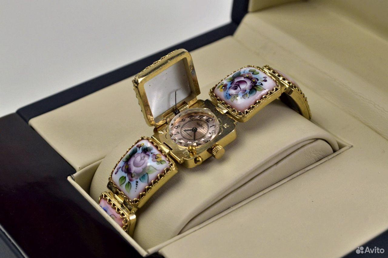 Женские часы Чайка Новые 17 камней Россия 1998 год  89525003388 купить 5