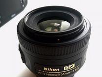 Фотоаппарат Nikon D7200 с объективом DX 35mm 1.8
