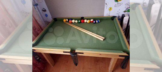 Бильярдный стол для детей купить в Старом Осколе | Хобби и ...