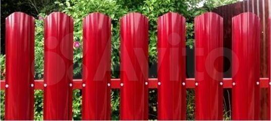 Металлический штакетник 1,25 м., 1,8 м., 2 м купить в Оренбургской области | Товары для дома и дачи | Авито