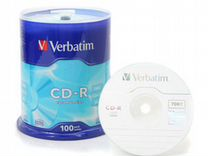 CD-R и DVD-R диски Verbatim
