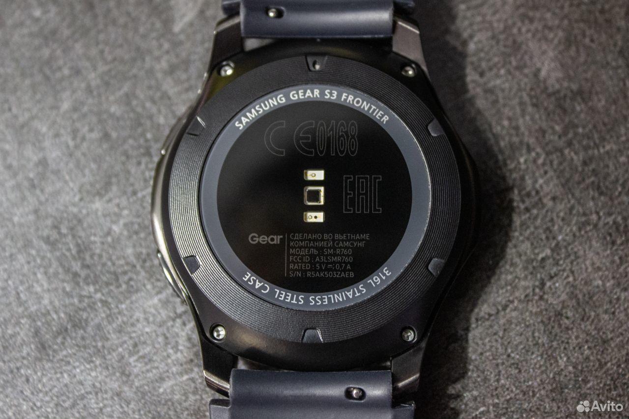 Часы SAMSUNG Gear S3 Frontier  89378001620 купить 7