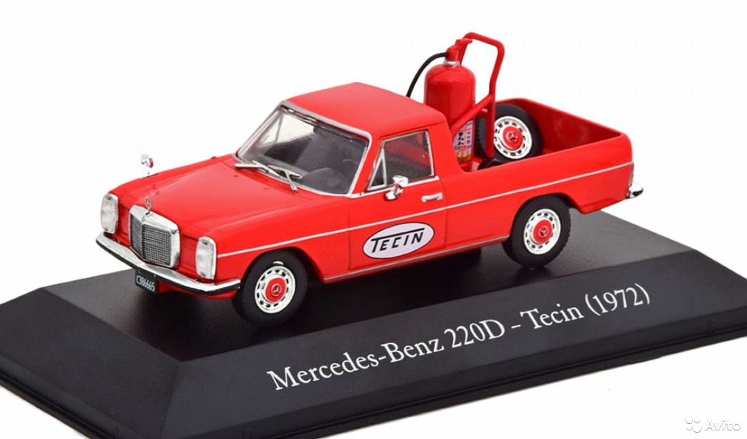 1/43 Mercedes-Benz 220D pick-up W115 1972 Tecin
