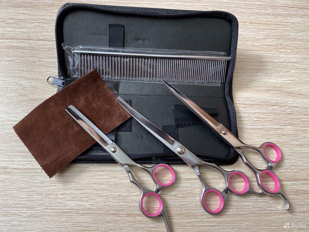 Новые ножницы для стрижки животных  89134820740 купить 2