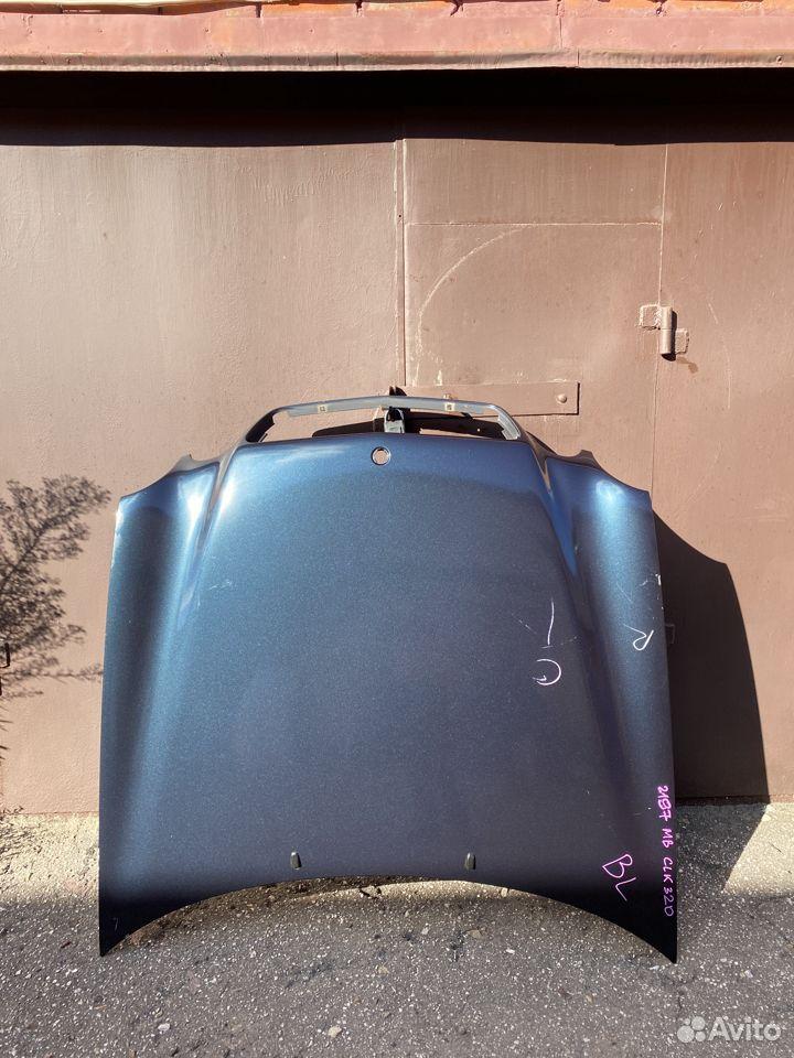 Капот Mercedes CLK W208 дорестайлинг  89534684247 купить 1