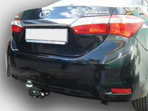 Фаркоп для Toyota Corolla седан 2007-2018 — Запчасти и аксессуары в Перми