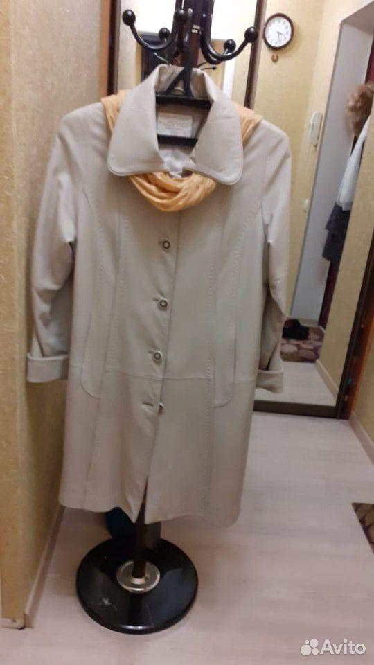 Плащ женский кожаный  89102008778 купить 1