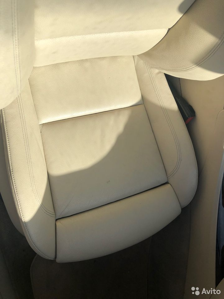 Спорт салон сиденья BMW E92 в сборе (бежевая кожа)  89638577308 купить 4