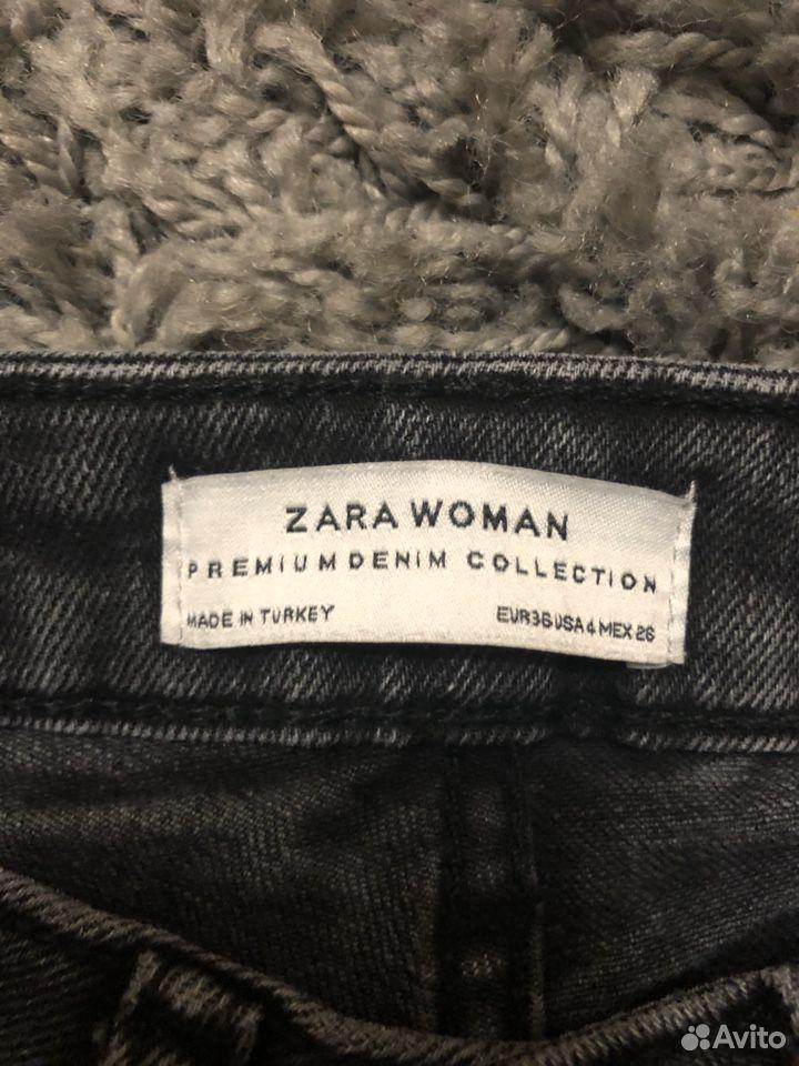 Джинсы Zara серые, 36 размер  89032636918 купить 3