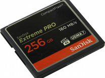 Карта CF Compact Flash Sandisk Extreme Pro 256gb