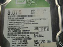 Жесткий диск Western Digital WD Caviar Green 3 TB