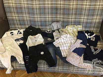 Пакет вещей на мальчика 62-68 см