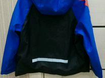 Куртка дождевик прорезиненная