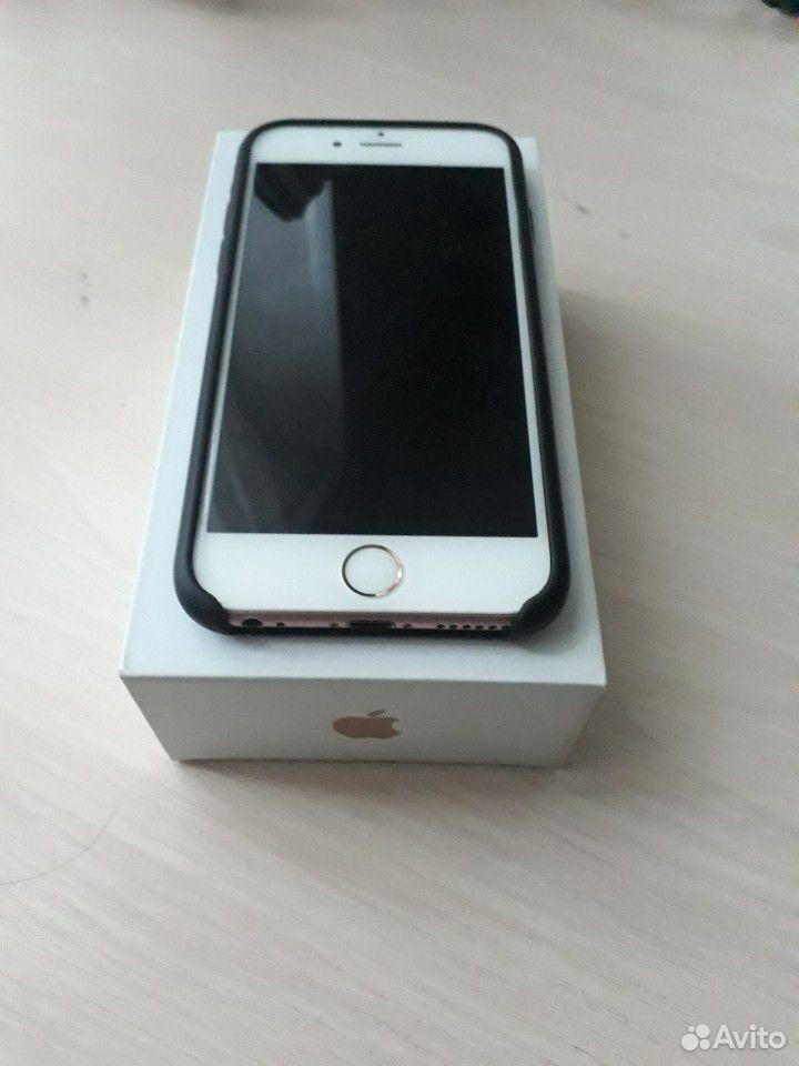 Телефон iPhone 6s RoseGold 16gb
