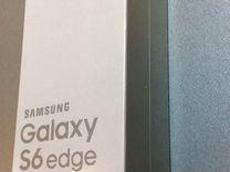 S 6 Edge Black Sapphire Оригинал