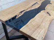 Столы «река» из эпоксидной смолы. Мебель для дома — Мебель и интерьер в Великовечном