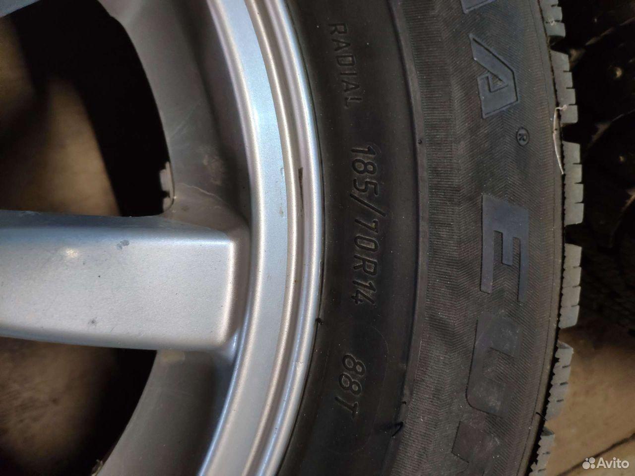Зимние шипованные колеса  89278124932 купить 4