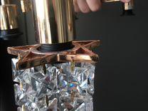 Люстра хрустальная трансформер 6 рожков цв(золото)