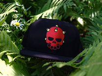 Бейсболка OldSkull King (red skull) — Одежда, обувь, аксессуары в Москве
