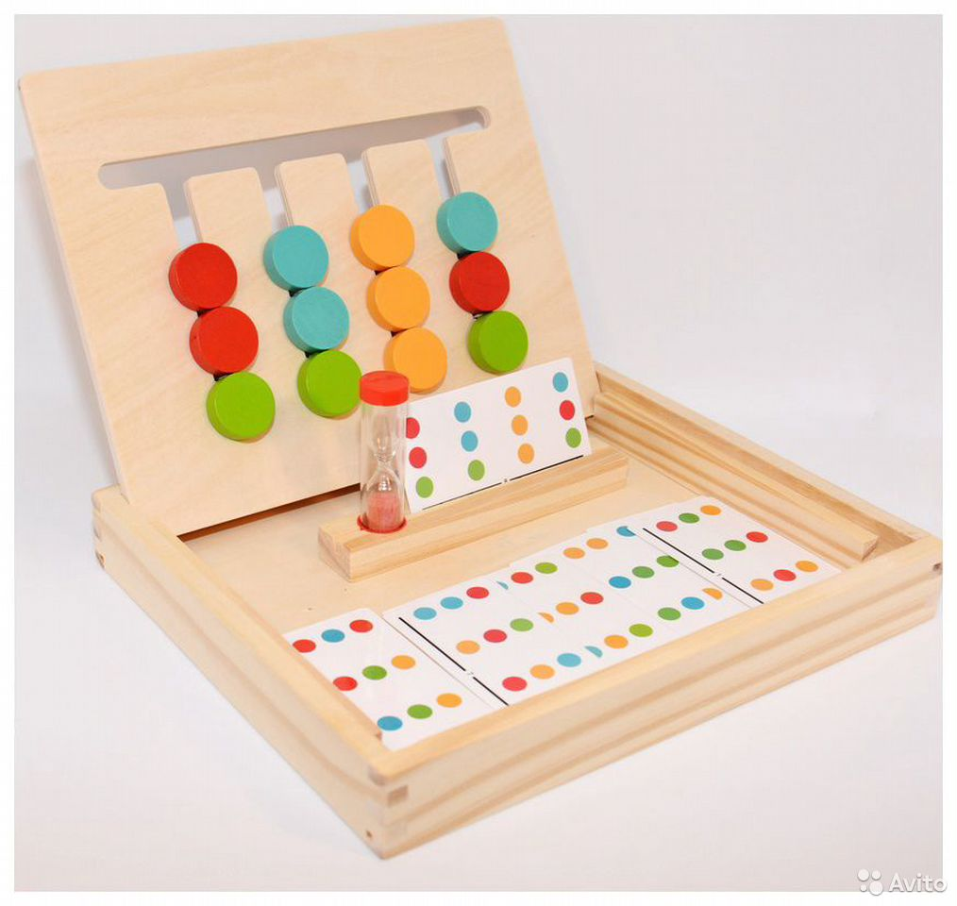 Логическая игра «4 цвета и 4 фигуры»  89603218602 купить 4