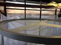 Цилиндрический Аквариум из акрила 3500 л