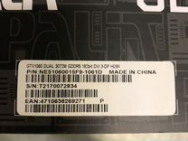 Видеокарта Palit 1060 Dual Fan