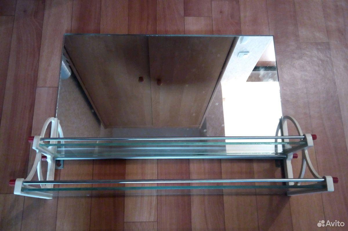Полочка туалетная с зеркалом СССР  89332007666 купить 1