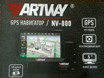 Новый GPS Навигатор NV-800