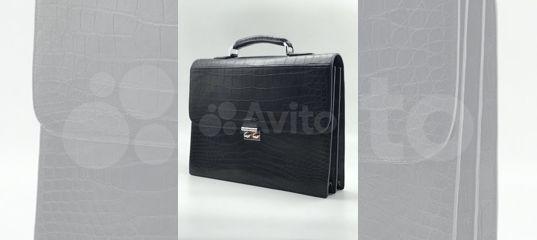 b20bbf2d0ecb Портфель из кожи крокодила купить в Москве на Avito — Объявления на сайте  Авито
