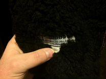 Меховое мужское пальто длинное классическое