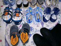 Продам сандали, сапожки