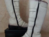 Сапоги зимние из натуральной кожи