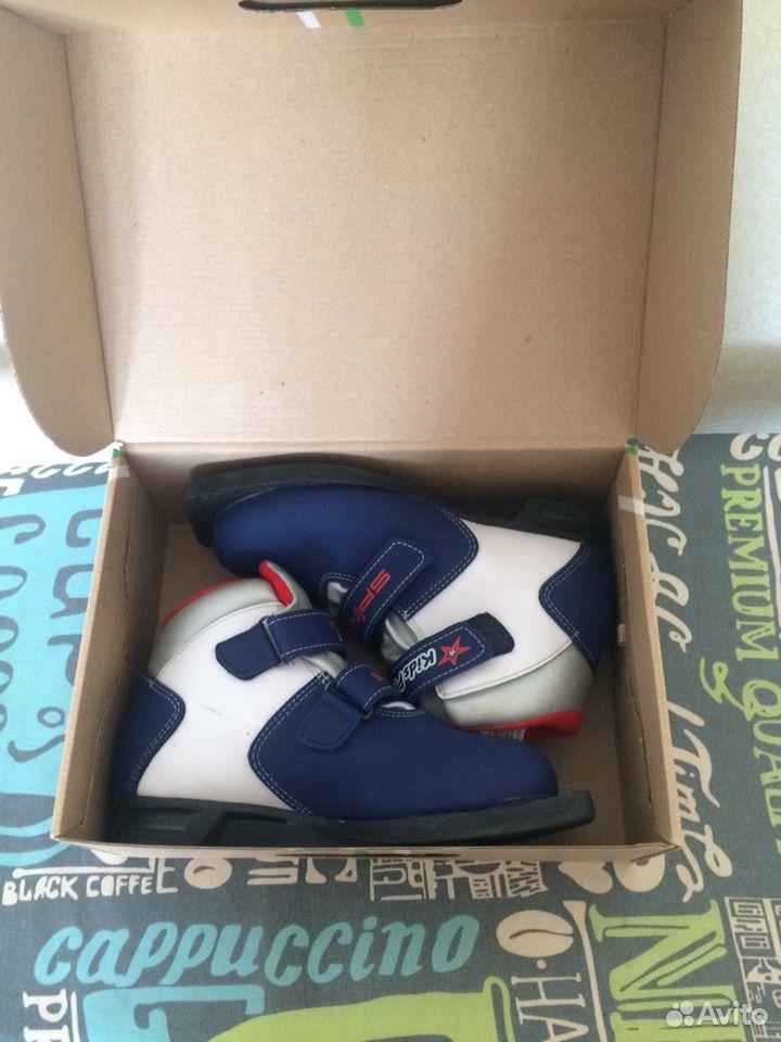 Лыжные ботинки  89993640066 купить 1