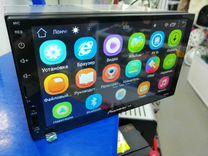 2 дин магнитола Pioneer ок 7023А на Android 8.1