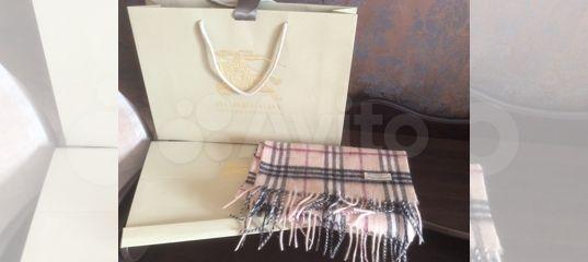Новый шарф Burberry оригинал купить в Москве на Avito — Объявления на сайте  Авито 7d640e10156